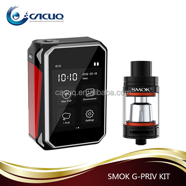 0.1-0.3ohm(VW)/0.06-2ohm(TC) Wholesale new design Kits G-PRIV 220 SMOK brand Mod