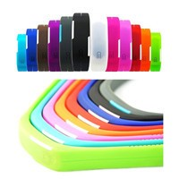 Factory Cheap 3M Sticker Silicone Smart Wallet,iwallet for Mobile Phone Silicone Card Holder
