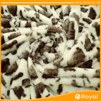 Hot sell New design Promotion Roll up lion fleece fabric