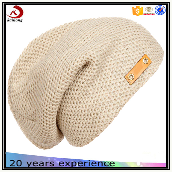 womens lady fashion wool felt knitted beanie hats caps