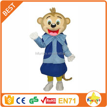 Funtoys CE Adult Blue Monkey Costom Mascot Costume