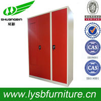 new design hot sale red steel cabinet sliding door mechanism