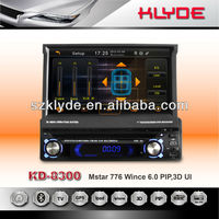 NEW/HOT 1Din Car DVD with detachable panel