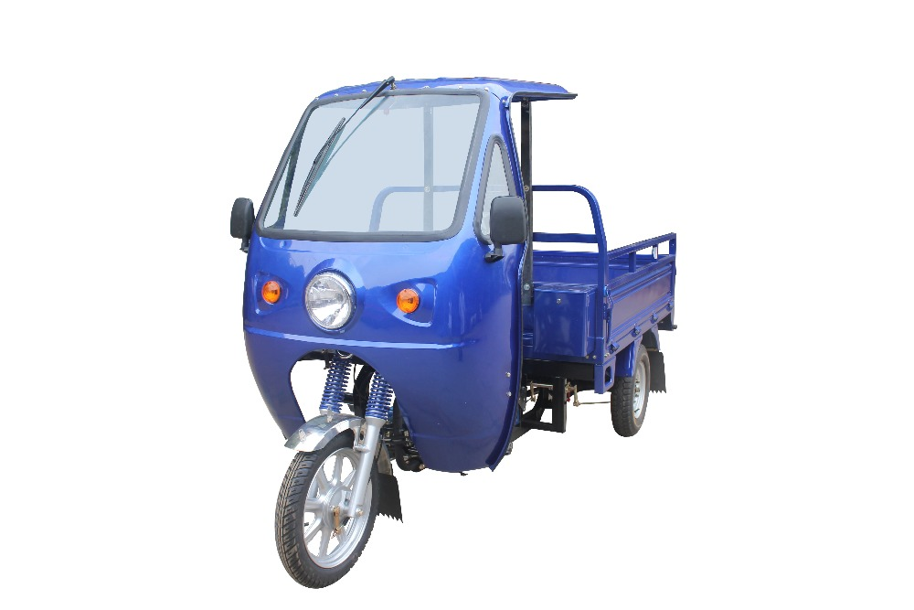 2016 150CC/175cc/200cc Motorized Heavy Load Three Wheel Cargo Motorcycle / With Front Cabin