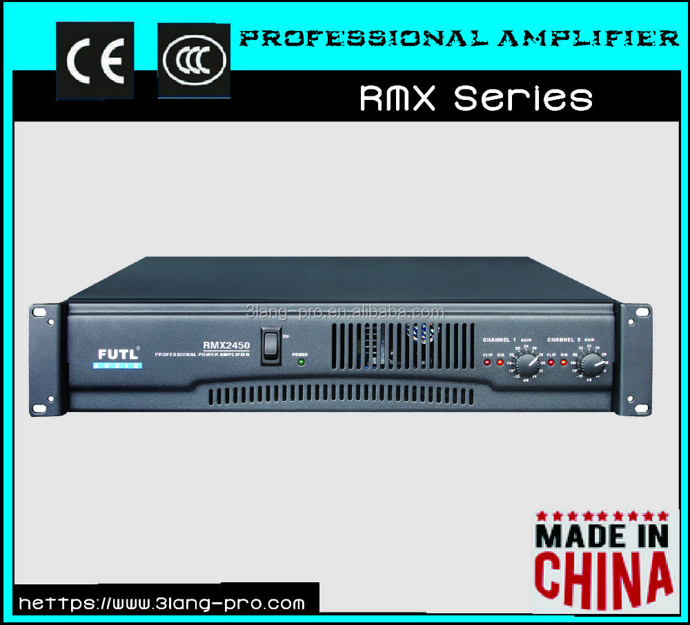 Standard Sound Audio System Stable High Quality Professional Power Amplifier