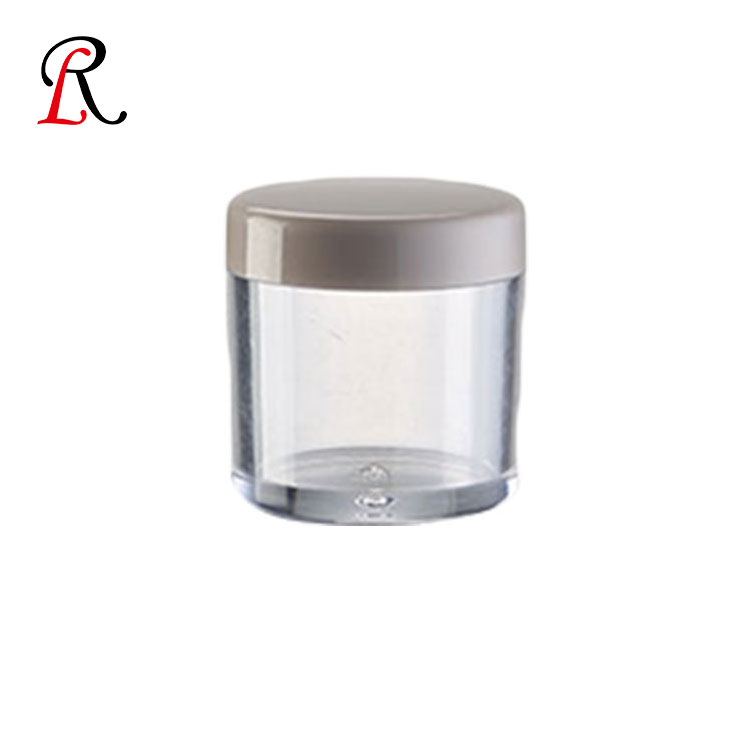 Good Quality 25g Empty Face Plastic Eye Cosmetic Luxury Cream Jar With Lid