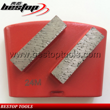24# Hard Bond HTC Diamond Concrete Grinding Tools