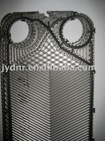 plate heat exchanger rubber gasket and stainless steel plate