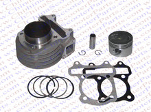GY6 100CC 50MM Big Bore Kit Cylinder Piston Ring Gasket Kit 139QMB 139QMA 82ML Jonway Jmstar Wangye Baotian Sunny Scooter Parts