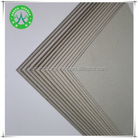 1300gsm laminated grey paperboard/paper thickness 2mm