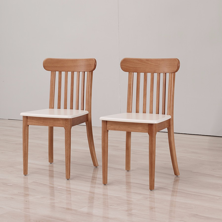 Antique wooden dining room chairs