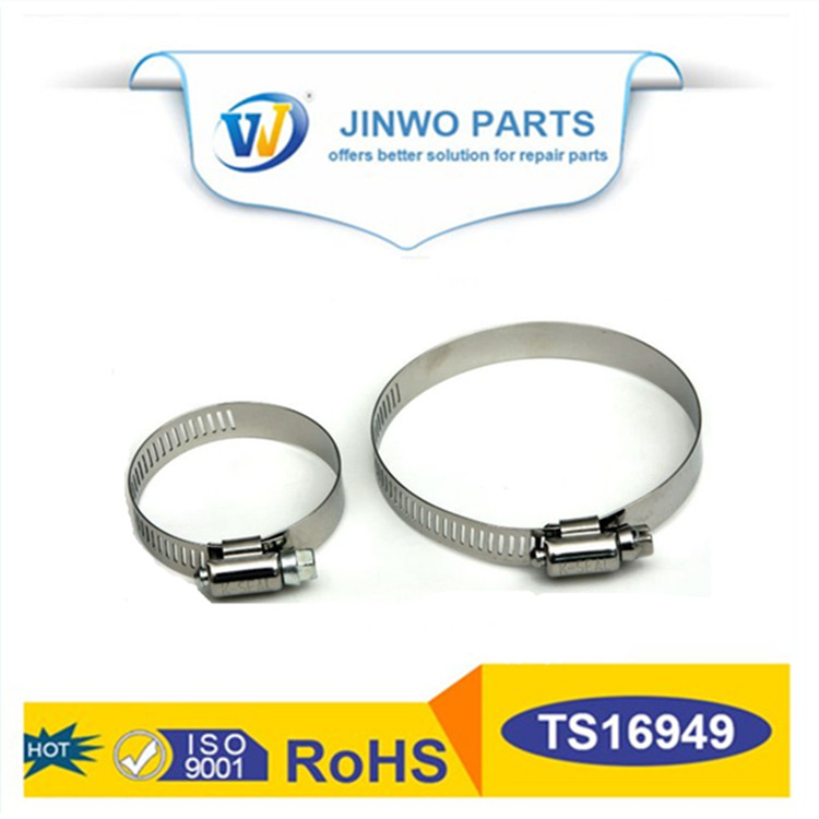 Types of hose clamps stainless steel band clamps