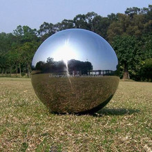Garden Large Gazing Stainless Steel Hollow Ball