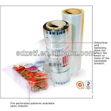 best selling clear POF shrink film for food packing