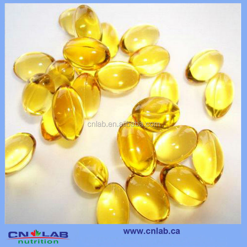 Omega 3 Fish Oil softgel in bulk with GMP plant in China