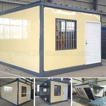 Light Steel house of insulated Sandwich Panel Prefab Kit Home Studio Office