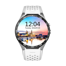 KW88 3G Smart Watch Cell Phone All-in-One MTK6580 Android 5.1 Quad Core WiFi GPS Heart Rate Monitor PK cheap GT08 smartwatch