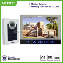 Hit Market!!! smart electronic wired modern home phone with lamp hidden camera
