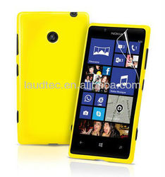 Grip Gel TPU Case Cover For Nokia Lumia 520 + Screen Protector China--Laudtec
