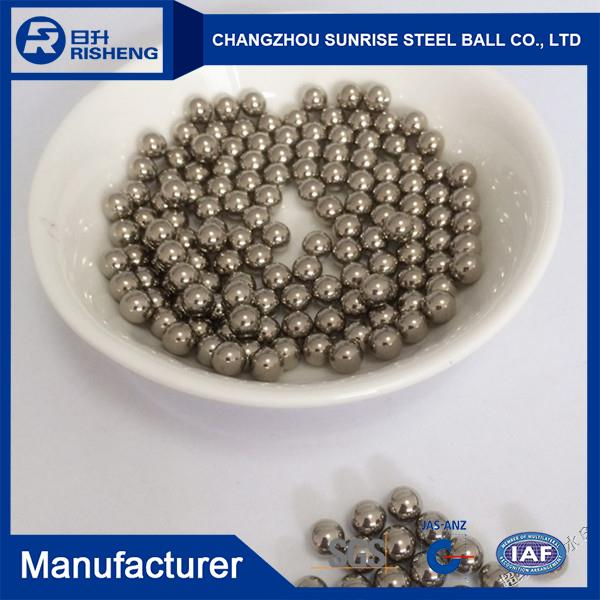 Factory wholesale 17mm aisi316 stainless steel ball gazing ball