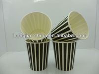 2014 China manufacturer whole sale 12oz single PE coffee paper Cup
