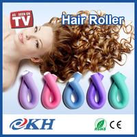 Fashion Flexible Rubber Foam Hair Roller