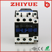 CJX2 ac electromagnetic electric power types 110V 220V 380V coil 3 phase 3 pole 32a circuit contactor price