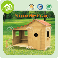 Large, easy assembly wooden kid summer house, house plan for kids