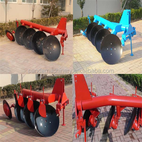 tractor three point mounted tube disk plow/ plough