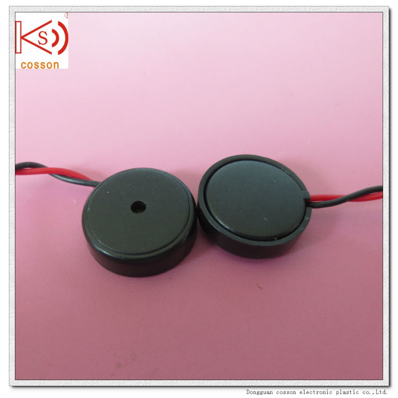 14mm piezo buzzer with wire