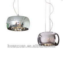 magic crystal ball metal linear chandelier &pendant light,led lamp