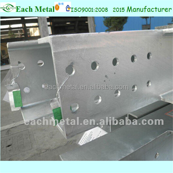 H beam steel metal building materials
