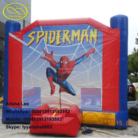 Spiderman Commercial Inflatable Bouncer Kids Inflatable Jump Bouncy Castle For Sale