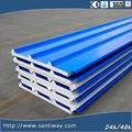 Roof and wall steel sheet PU sandwich panels Santiway-199