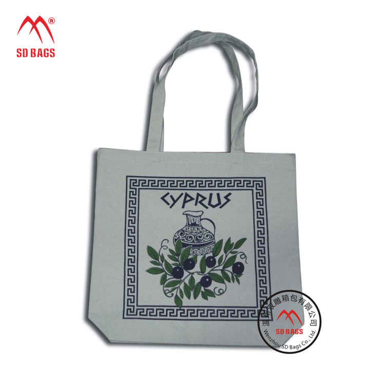Hot new products for 2015 canvas tote bag rope handle