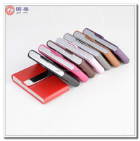 Promotional Metal and Leather Business Card Case/Card holder/Card Cover