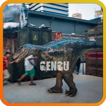 Costume Realistic Walking Hot Dinosaur Costume