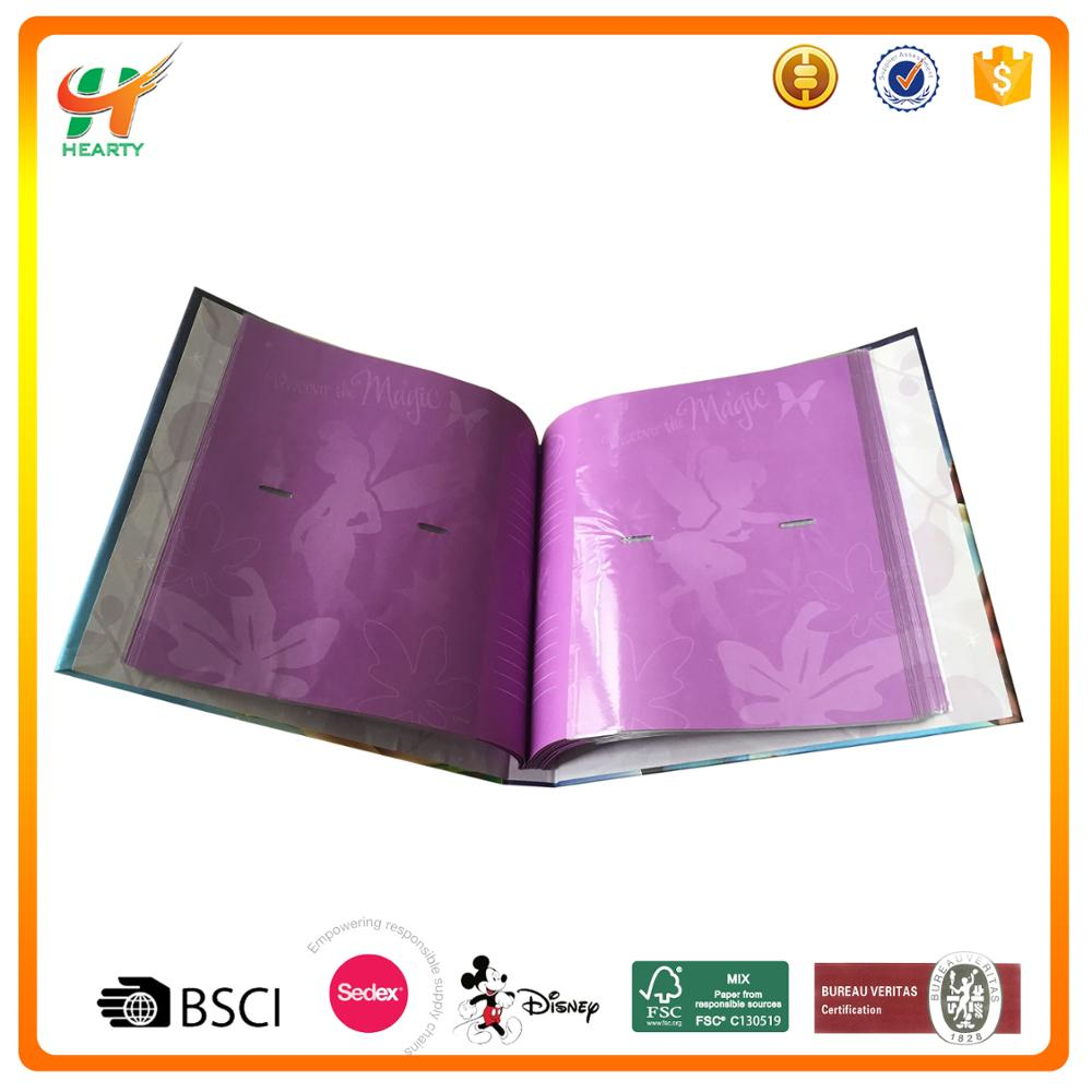 Hot Selling Eco-friendly PU Cover Album Photo with Custom Logo for Promotion