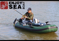 Cheap 10ft lightweight fishing inflatable pontoon boat!
