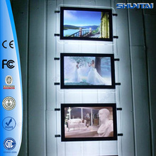 Wholesale led acrylic picture frames for real estate agent