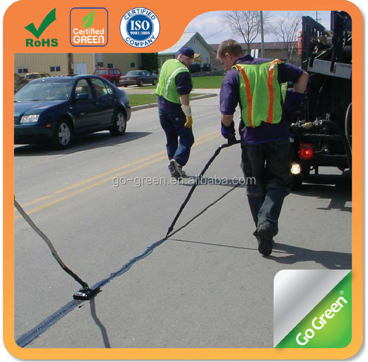Road joint filler/ sealer makes crack repair easy