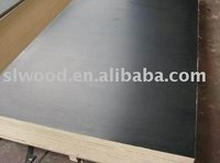 hardwood core,melamine glue black film faced plywood-construction plywood
