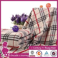 100% cotton jacquard strong water absorption cotton jacquard thick throw blanket
