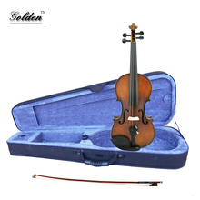 Full sets 4/4 solid wood student violin at fitness price