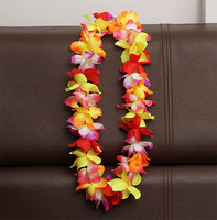 Colorful Hawaii Garland Lei and hawaiian flower lei garland For Party