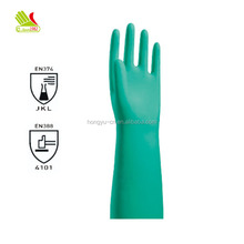 11mil Unlined Waterproof Rigger Cloth Work Nitrile Gloves