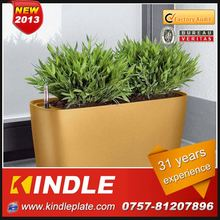 Kindle 2013 New polychrome artificial flowers hanging basket with 31 years experience