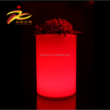 hotel/restaurant/garden illuminated led flower pot/vase
