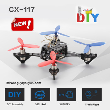 New product mini drone rc quadcopter CX-117 drone with hd camera and wifi fpv
