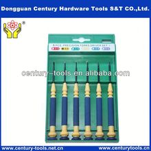 6pcs battery mini screwdriver